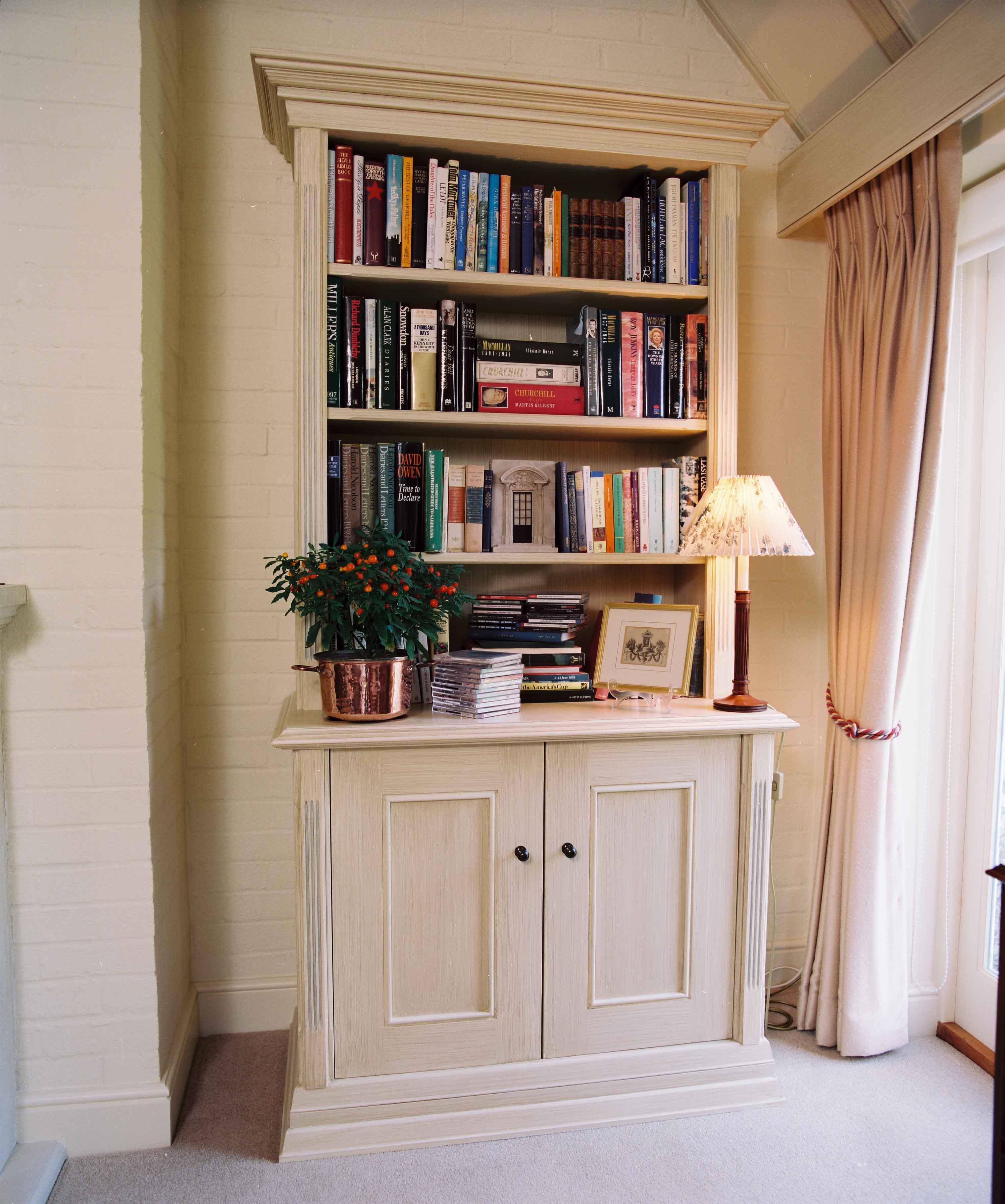 Handmade alcove cabinets