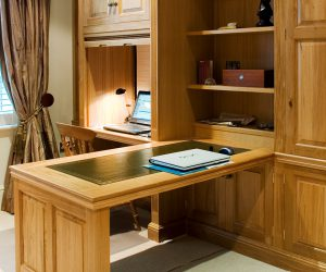 Bespoke fitted study