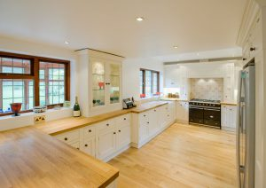 handcrafted classic country kitchen