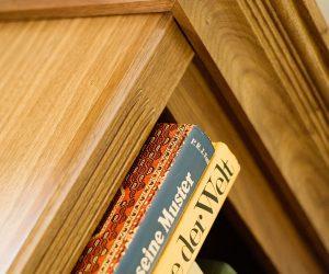 Bespoke Walnut Bookcases