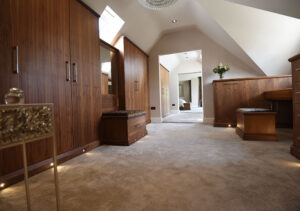 Bespoke and tailor-made dressing room