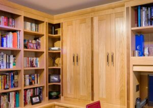 Bespoke home office fitted furniture