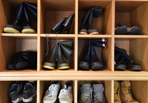 Made-to-measure-boot-room